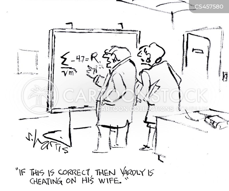 mathematical problems cartoon