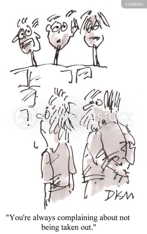 heads on spikes cartoon