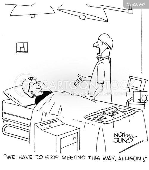 patient-doctor cartoon