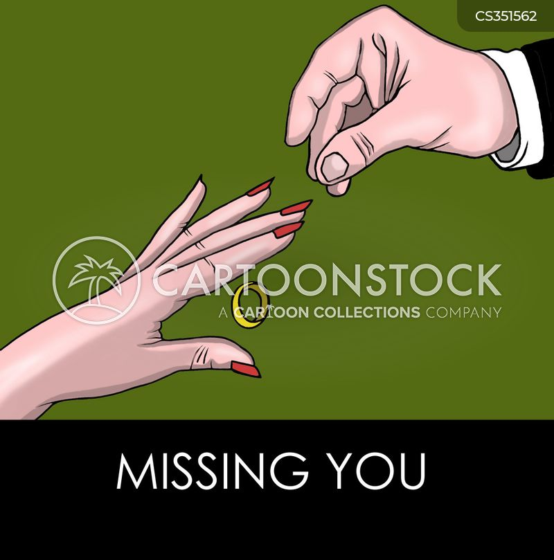 miss you cartoon