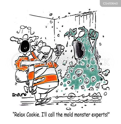 mold cartoon