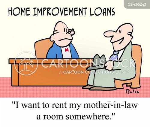 property improvements cartoon