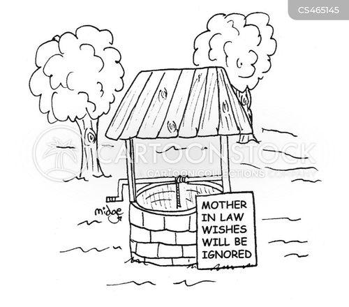 magic well cartoon