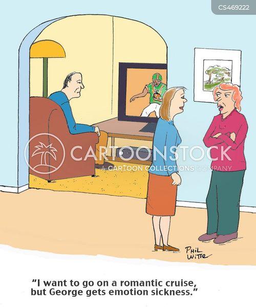 emotionally repressed cartoon