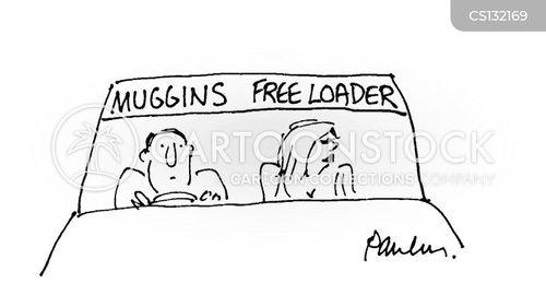 free loader cartoon