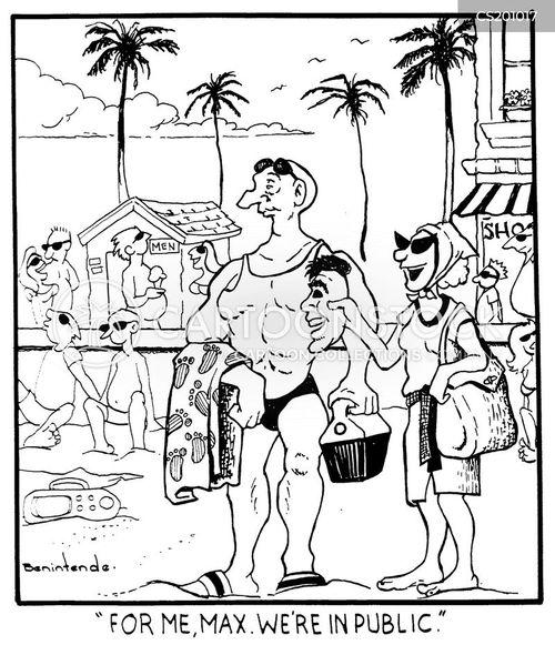 trophy husband cartoon
