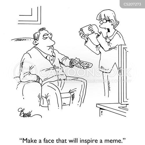 likes cartoon