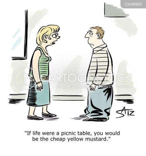 mustards cartoon