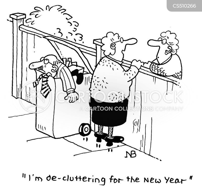 clear outs cartoon
