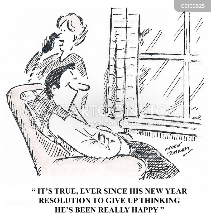 Lost In Thought Cartoons and Comics - funny pictures from CartoonStock