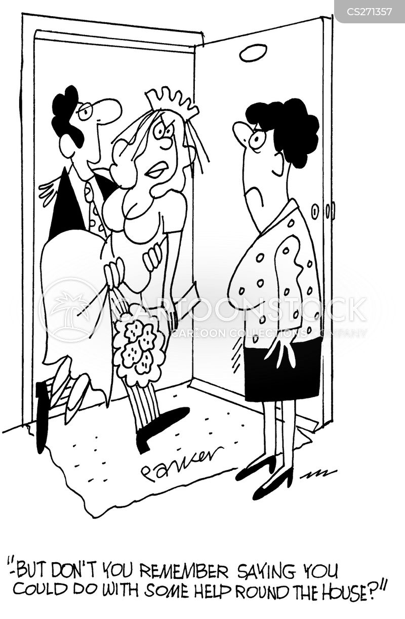 first wives cartoon