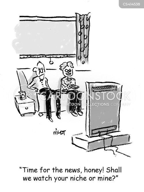 niches cartoon