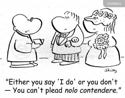 nolo contendere cartoon