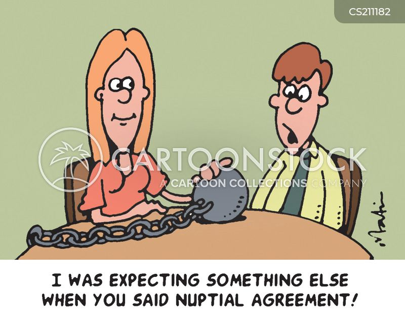 Nuptial Agreement cartoons, Nuptial Agreement cartoon, funny, Nuptial Agreement picture, Nuptial Agreement pictures, Nuptial Agreement image, Nuptial Agreement images, Nuptial Agreement illustration, Nuptial Agreement illustrations