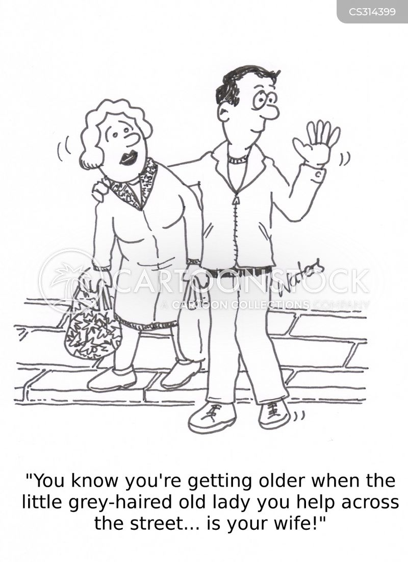 Getting with an older woman