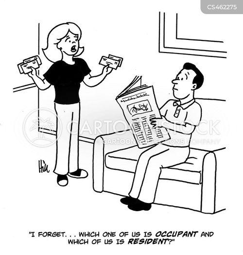 tenancies cartoon