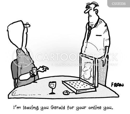 internet date cartoon