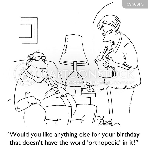 degenerative disease cartoon
