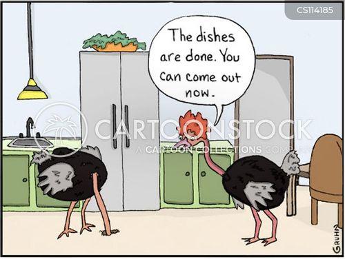 house-work cartoon