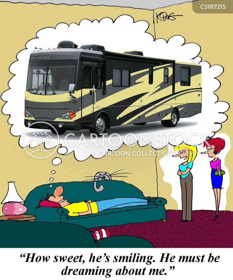 Rv Cartoons Cartoon Funny Picture Pictures Image