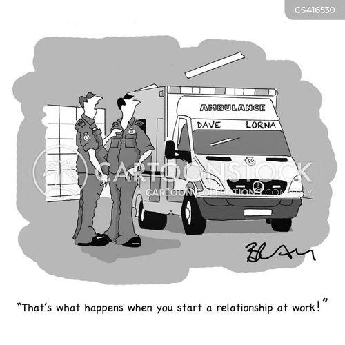 ambulance drivers cartoon