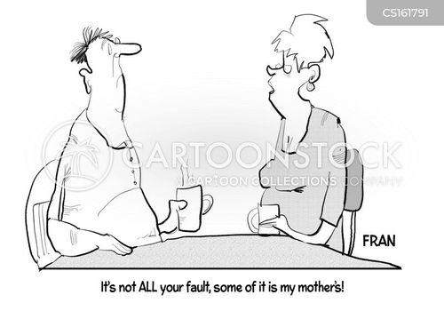 dysfunctional family cartoon