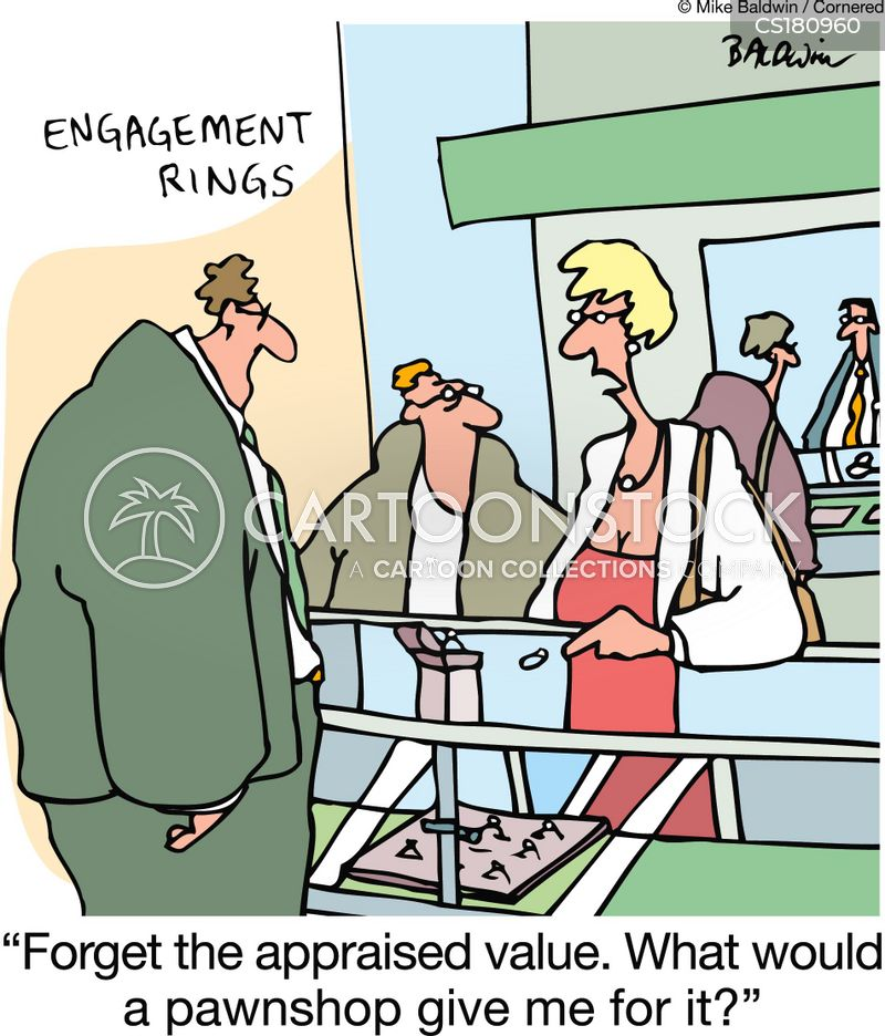 appraised value cartoon