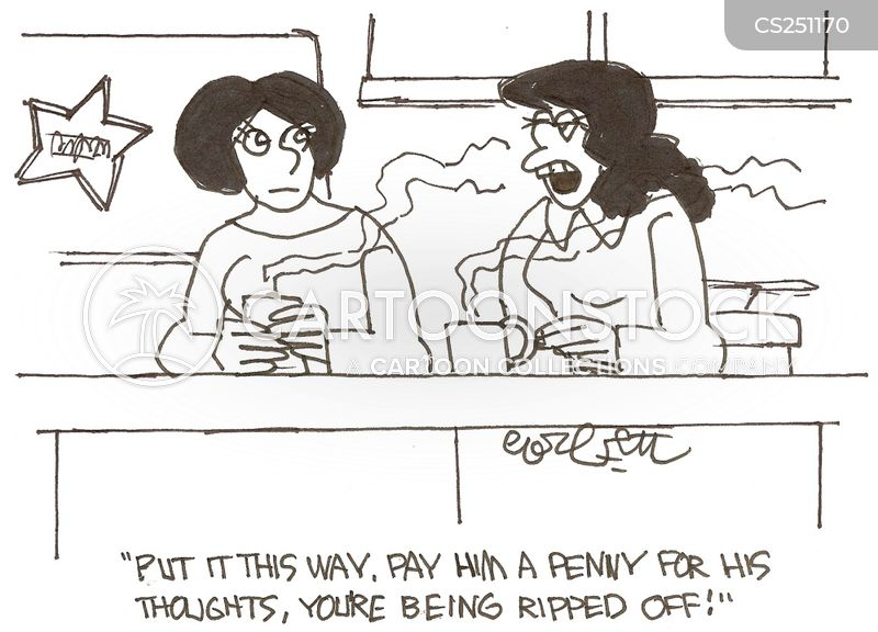 penny for your thoughts cartoon