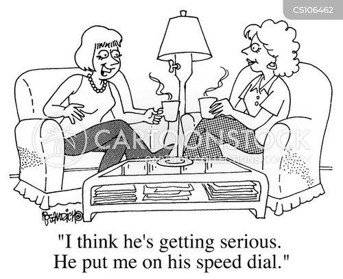 speed dial cartoon