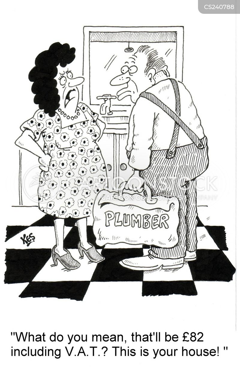 water pipes cartoon