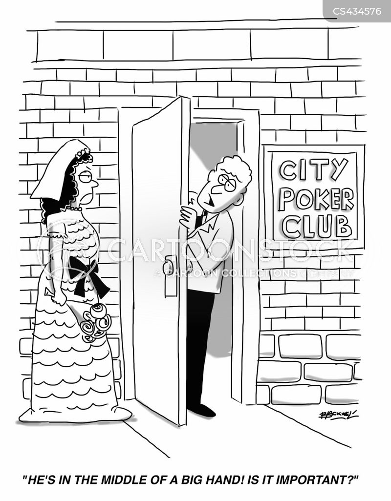 poker clubs cartoon