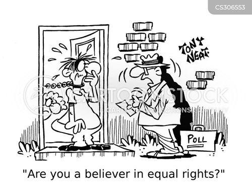 equal right cartoon