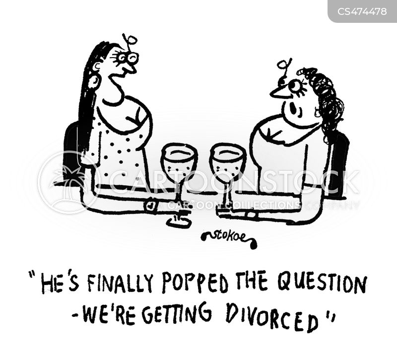 popping the question cartoon