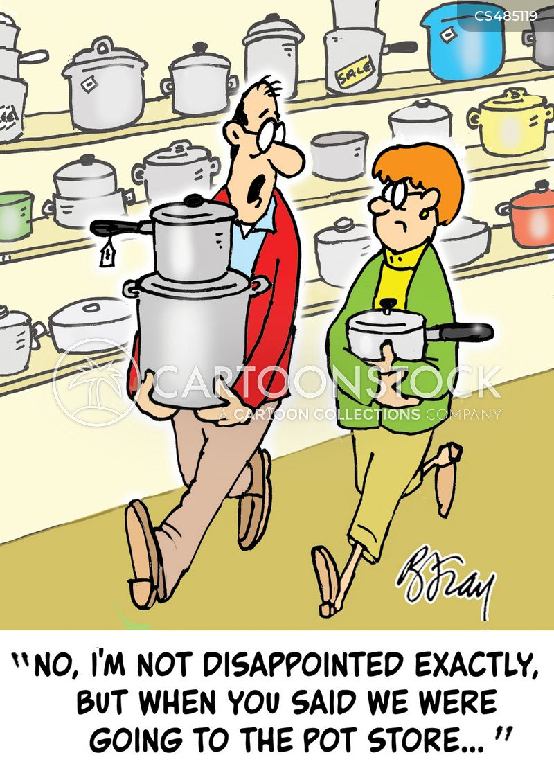 pots & pans cartoon
