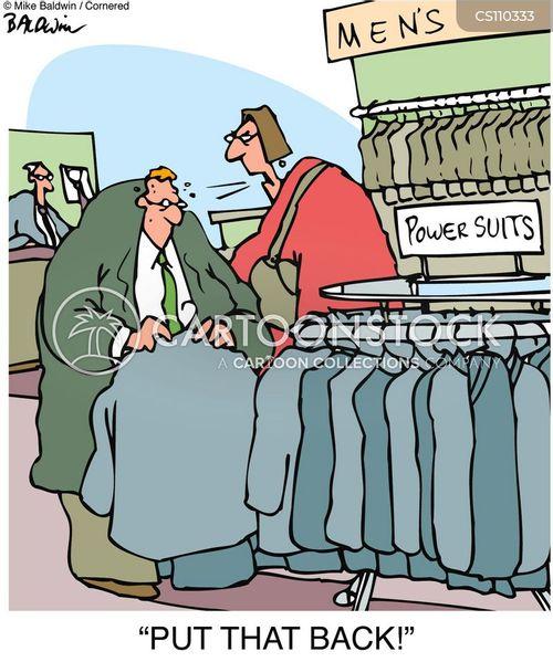 dressing for success cartoon