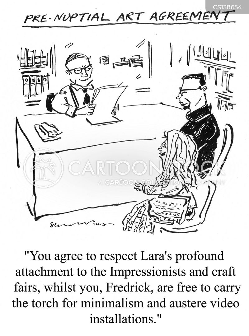 pre-nuptials cartoon