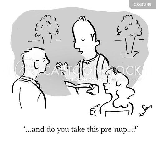 wedded cartoon