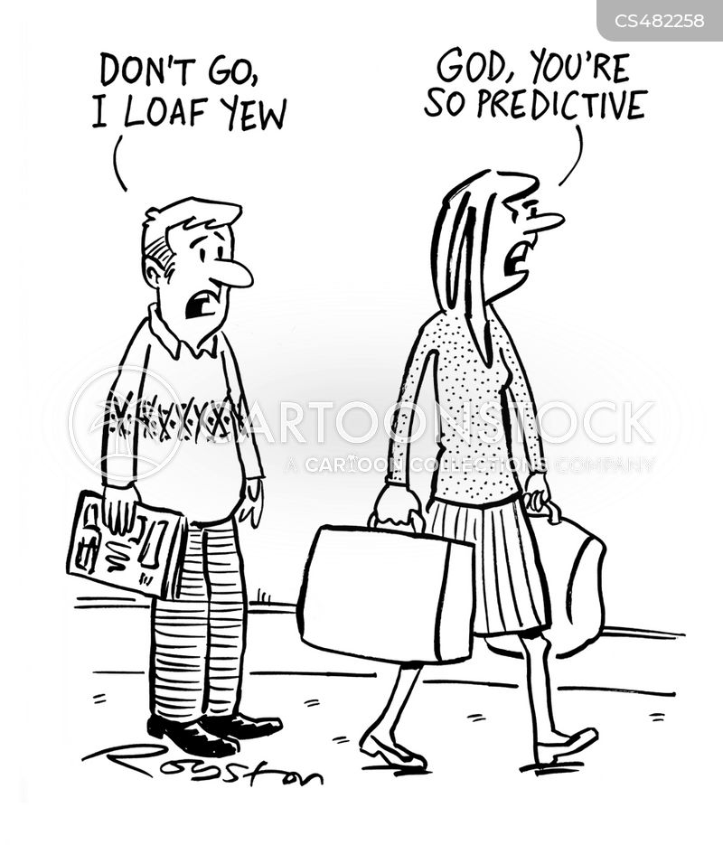 predictive text cartoon