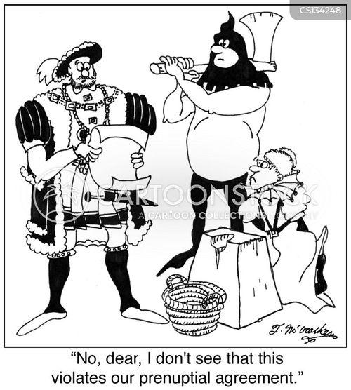 king henry cartoon
