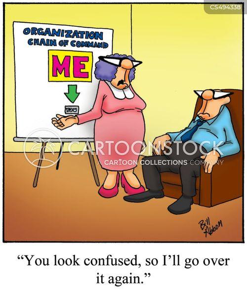 dominant personality cartoon