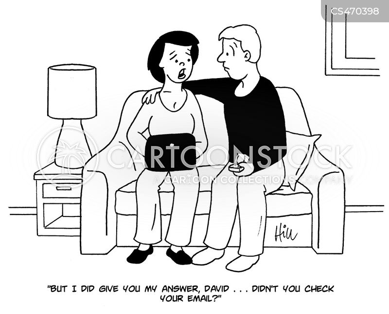 modern relationship cartoon