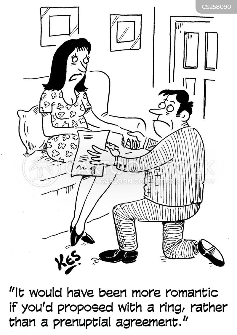 engagment rings cartoon