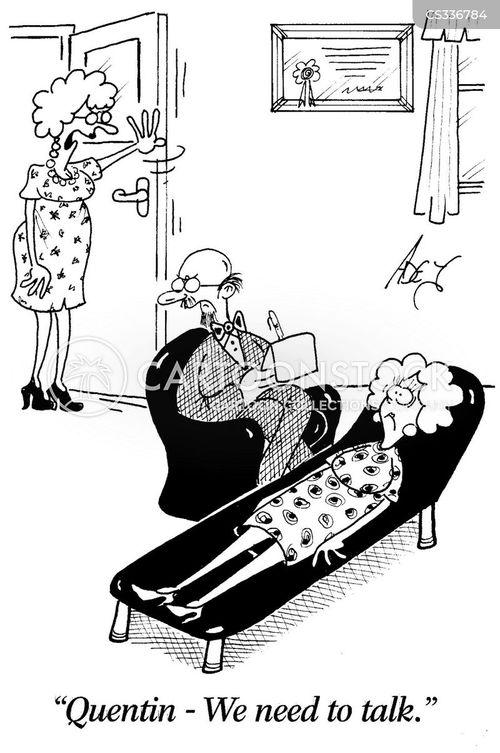 talking therapy cartoon