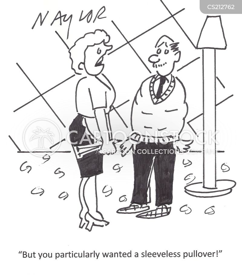 pullover cartoon