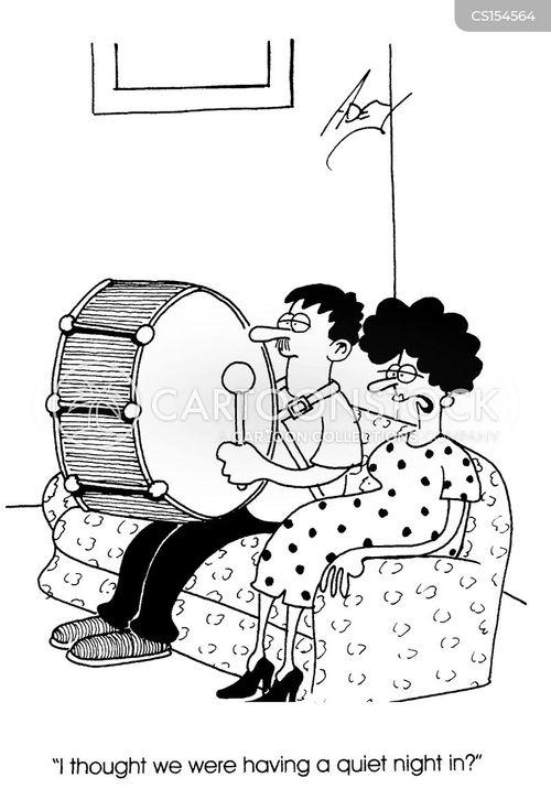 marital disharmony cartoon