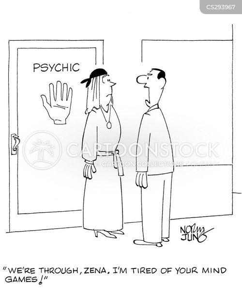 telepathic cartoon
