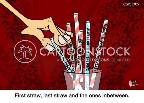 last straws cartoon