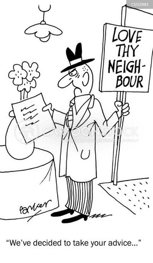 love thy neighbor cartoon