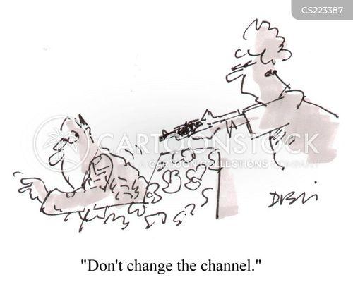channel surfers cartoon