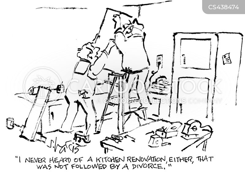 renovating cartoon